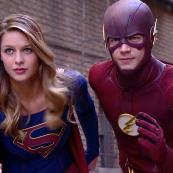 Making Music – Behind The Scenes Of The Flash / Supergirl Crossover