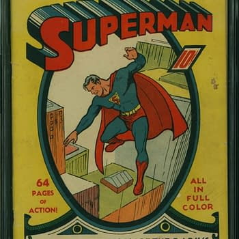 Superman #1 CGC 5.5 Sells For Record $507500