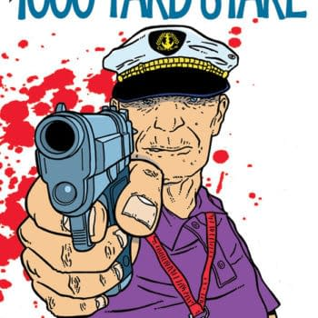 David Hine And Shaky Kane Write And Draw Themselves Into Bulletproof Coffin: The 1000 Yard Stare, From Image Comics (Or Image Nation) In June
