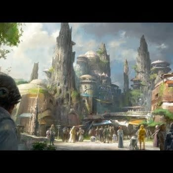 Star Wars Land Details For Disneyland, Walt Disney World, Crewing The Millennium Falcon, Plus Star Tours Adding Last Jedi's Crait