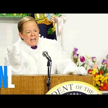 Melissa McCarthy As Sean Spicer/Easter Bunny: Eat As Much Candy As You Want Because This Is Probably Our Last Easter On Earth