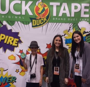 The Duck Tape Cosplay Repair Station At WonderCon