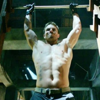 Stephen Amell Returns To The Ring — Ring Of Honor, That Is