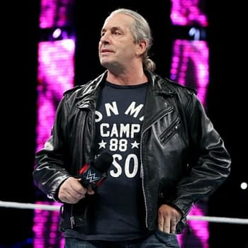 Is WWE Hall Of Fame Great Bret Hart Going Soft On Us Watch As He Trolls Brock Lesnar And Ric FlairHard