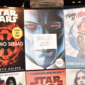 Thrawn Exclusive Cover Causes A Disturbance In The Force At Star Wars Celebration