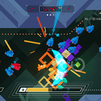 Switching Up The Pace With Graceful Explosion Machine