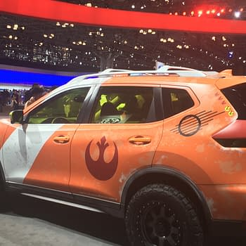 Hands On With Nissan And Star Wars Battle Test VR