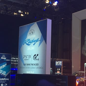 The Hyundai Racing Challenge At The New York Auto Show Used A PS3 To Run GT6