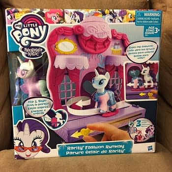 GIVEAWAY Win A My Little Pony Friendship Is Magic Rarity Fashion Runway Playset From Hasbro