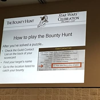 The Most Fun You Can Have At Star Wars Celebration? The Bounty Hunt Scavenger Hunt