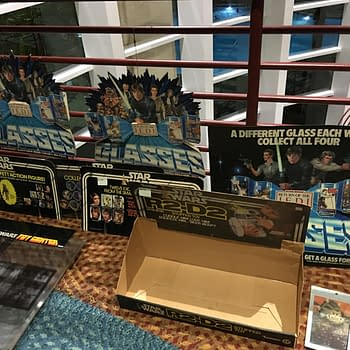 """""""We Have To Leave Before They Call The Cops"""" Vintage Star Wars Room Sales At SWCO"""