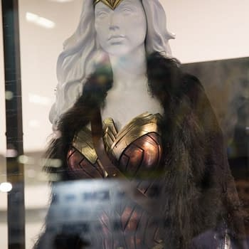 DC Comics Wonder Woman Booth At WonderCon 2017