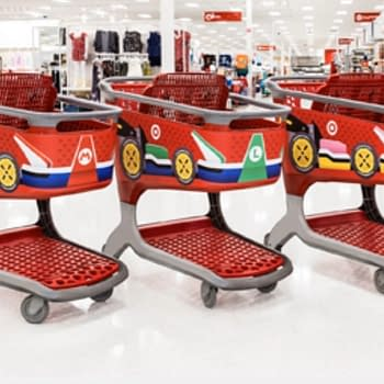 Target Stores Are Being Turned Into Mario Kart Racetracks