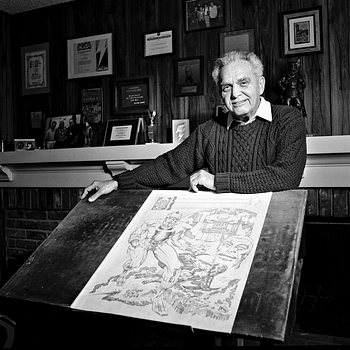 Fans Campaign For Google To Honour Jack Kirby