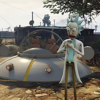 Holy Crap Morty. Were Getting Schwifty In GTAV Whatever That Is.