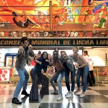 Five Cast Members Of The CW's Riverdale Walk Into A Mexican Wrestling Show…