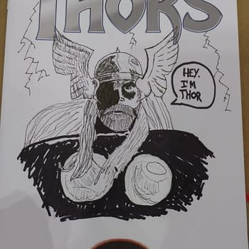 Is Matthew Rosenberg Angling For Job As The Next Thor Variant Cover Artist