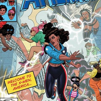 There Will Be Two America #4 Comics In Comic Stores A Week Of Each Other