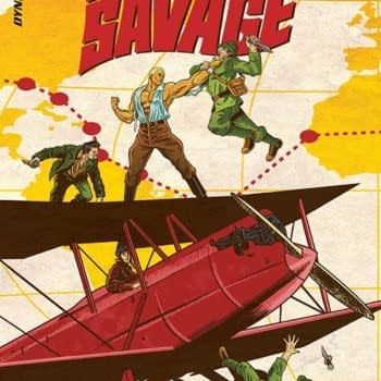 Exclusive Extended Previews – Doc Savage: Ring of Fire #2 And KISS: The Elder Vol 1