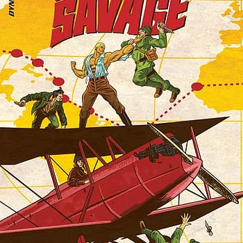Exclusive Extended Previews &#8211 Doc Savage: Ring of Fire #2 And KISS: The Elder Vol 1