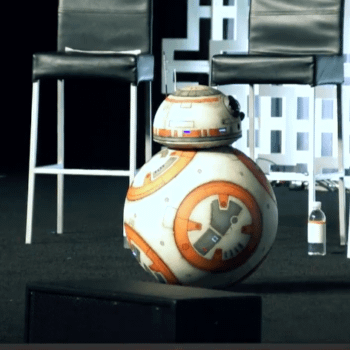 Star Wars' Biggest Star Appears At The Last Jedi Panel, And Yes It's BB-8 (PHOTOS)