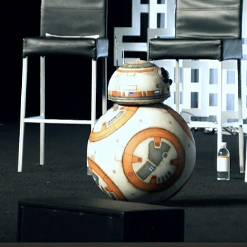 Star Wars Biggest Star Appears At The Last Jedi Panel And Yes Its BB-8 (PHOTOS)