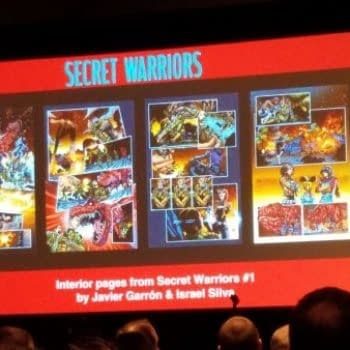 In Secret Warriors, Hydra (Who Are Not Nazis) Will Round Up Inhumans In Camps, From #C2E2 Secret Empire Panel