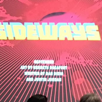 Grant Morrison To Co-Write Sideways With Dan Didio Justin Jordan And Kenneth Rocafort