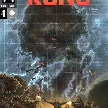 Skull Island Continues With The Birth Of Kong Comic