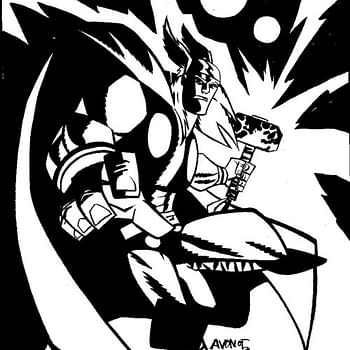 Michael Avon Oeming Draws Thor For Marvel Quickdraw