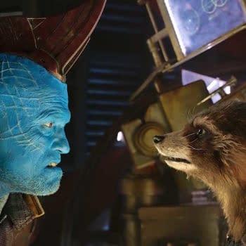 How Michael Rooker Got Blue For Yondu