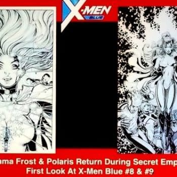 Emma Frost & Polaris Returning in X-Men Blue