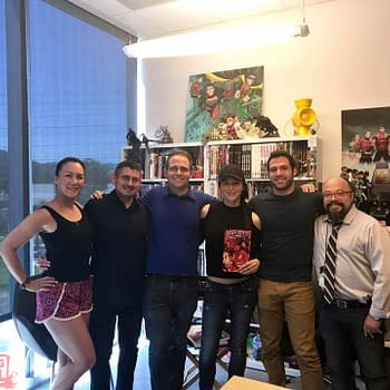 Smallville Actors Get To Grips With DC Comics Superman Offices&#8230