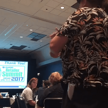 Dennis Barger Calls For Credit Ratings For Comic Stores At Diamond Summit 2017 (VIDEO)