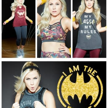 Ashley Eckstein's Her Universe Launches DC Comics Fitness Gear- And Fitness Videos!