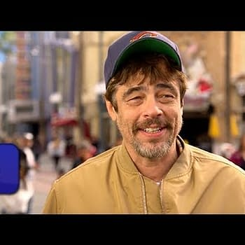 Benicio Del Toro Gives Us A Sneak Peek At Disneylands Guardians Ride