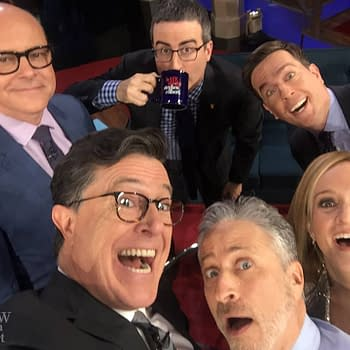 Stephen Colbert Reunites The Daily Show On The Late Show