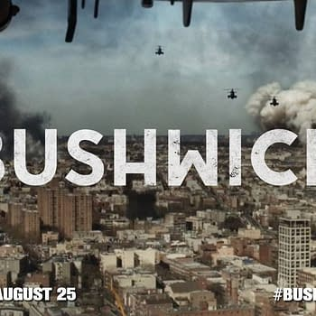 Three Posters From Sundance Movie Bushwick Starring Dave Bautista And Brittany Snow