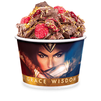 Nerd Food: Wonder Woman Ice Cream Is Berry Bold And Glitter Gold