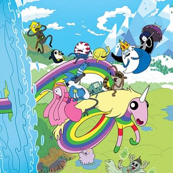 An Adventure Time And Regular Show Crossover Is Happening&#8230In The Comics