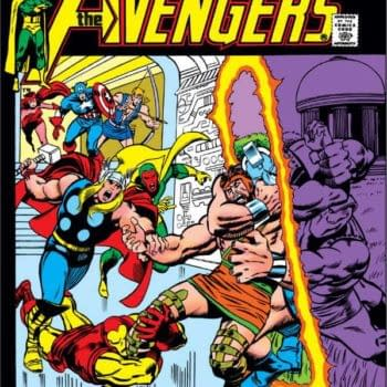 A 45-Year Old Barry Windsor Smith Avengers Page Up For Auction
