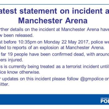 19 Dead, Around Injured In Explosion At Ariana Grande Concert At Manchester Arena, Treated As A Terrorist Incident