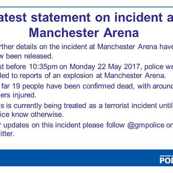 19 Dead Around Injured In Explosion At Ariana Grande Concert At Manchester Arena Treated As A Terrorist Incident