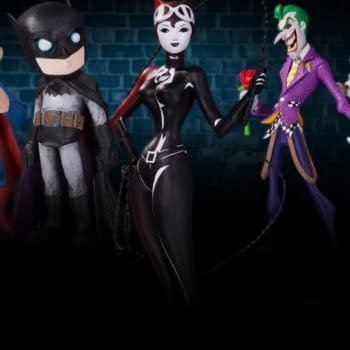 """DC Launch Artist Alley Vinyl Figures From Christopher Uminga, HaiNaNu """"Nooligan"""" Saulque And Sho Murase"""