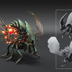 Darksiders 3 Reveals Some Spiffy Concept Art
