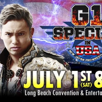 """New Japan Pro Wrestling's """"G1 Special In USA"""" Will Be Broadcast Live On AXS TV July 1"""