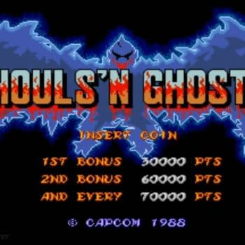 Get Your Spooky Retro Action On With Ghouls 'N Ghosts, Now Out On Mobile