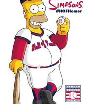 Welcome To The Baseball Hall Of Fame Homer Simpson (Yes Really)