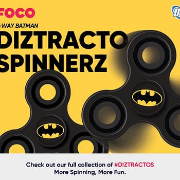 Forever Collectibles Enters The Fidget Spinners Market With DC and Looney Tunes