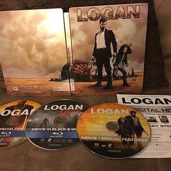 A Look At The Logan Best Buy Exclusive Steelbook And Blu-Ray Release